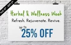 Now Get Upto 25% Discount on Herbal Products