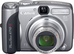 Canon PowerShot A710 IS 7.1MP Digital Camera