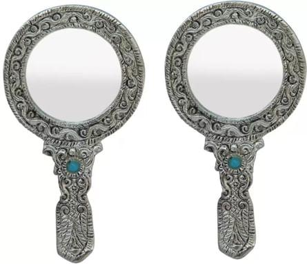 Handicrafts Paradise Oxm17114 Decorative Mirror Round Finish
