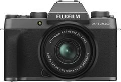 Fujifilm X T200 Mirrorless Camera (15 - 45 mm and 50 - 230 mm Lens)