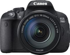 Canon EOS 700D SLR (Kit II EF-S 18-135mm IS STM Lens)