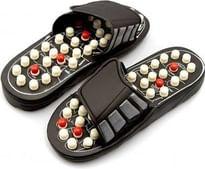 D boril ACCPDKA07 Spring Slipper Acupressure Magnetic Full Body Massage Foot
