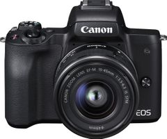 Canon EOS M50 (EF-M15-45 IS STM) DSLR Camera