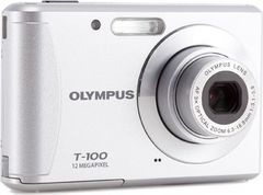 Olympus T-100 Point & Shoot Camera