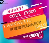 Plugtech Fantastic February Sale: FLAT ₹500 OFF on ₹799