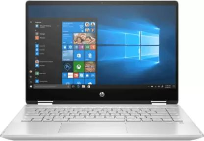 HP Pavilion x360 14-dh1008TU Laptop (10th Gen Core i3/ 4GB/ 1TB 256GB SSD/ Win10)