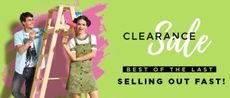Jabong clearance sale- Fashion, Clothing , Footwears and more.
