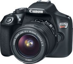 Canon EOS Rebel T6 DSLR Camera (EF-S 18-55mm + 55-250 IS II Lens)