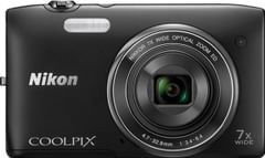 Nikon Coolpix S3400 20.1MP Digital Camera