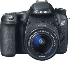 Canon EOS 70D Digital SLR Camera with 18-55 + 75-300 STM Lens