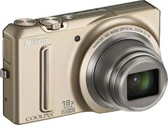 Nikon Coolpix S9100 Point & Shoot