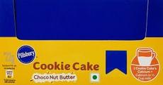 Pillsbury Cookie Cake, Choco Nut Butter, 22g (Pack of 12)
