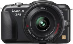 Panasonic Lumix DMC-GF5X Mirrorless (14-42mm Lens)
