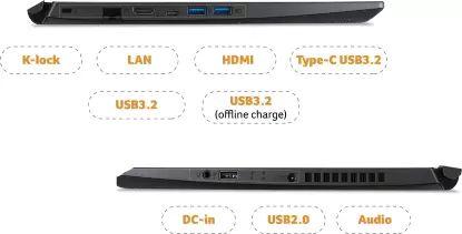 Acer Aspire 7 A715-42G NH.QAYSI.001 Gaming Laptop (AMD Ryzen 5/ 8GB/ 512GB SSD/ Win10 Home/ 4GB Graph)