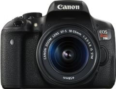 Canon EOS Rebel T6i DSLR Camera (EF-S 18-55mm IS STM Lens)