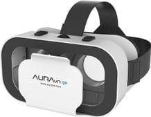 AuraVR Go Virtual Reality Light Weight Plastic VR Headset