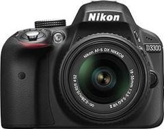 Nikon D3300 24.2 MP DSLR Camera (AF-P 18-55mm + AF-P 70-300mm VR)