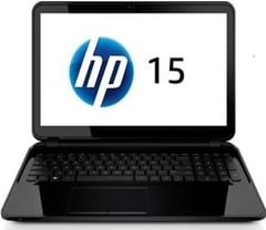 HP 15-D009TU Notebook PC (Intel Quadcore/2GB/500GB/DOS)
