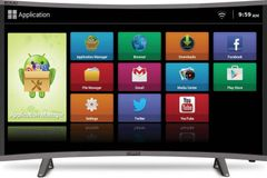 Mitashi MiCE032v30-HS (31.5-inch) HD Ready Curved Smart TV