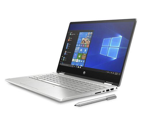 HP Pavilion TouchSmart 14 x360 14-dh0047TU (6XU80PA) Laptop (8th Gen Core i3/ 4GB/ 1TB 256GB SSD/ Win10)