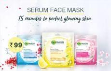 Garnier Skin Naturals Serum Mask