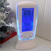 Mantavya Digital Alarm Temperature Calender Table Desk Clock