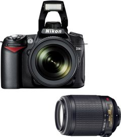 Nikon D90 with 18-105mm + 55-200mm Lens