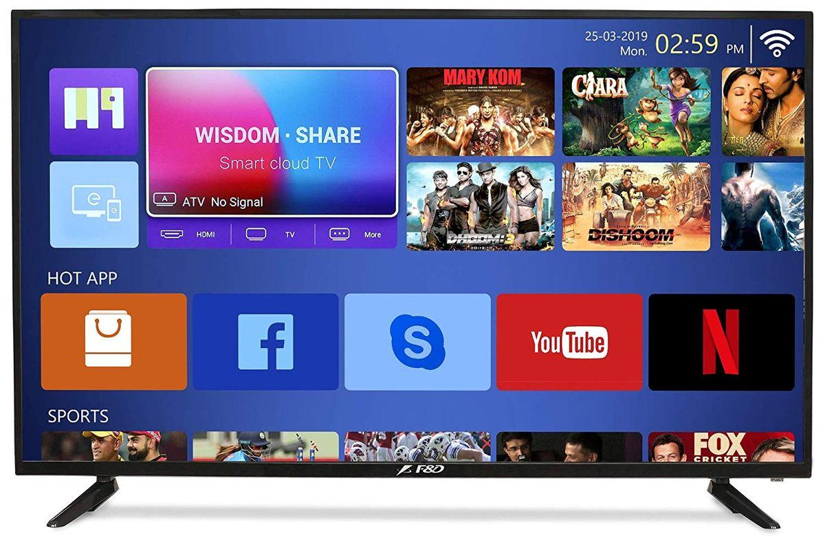 F&D TLT-4306SDT 43-inch Full HD Smart LED TV