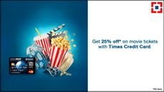 Get 25% Discount on Purchase of Movie Tickets With Your HDFC Times Card