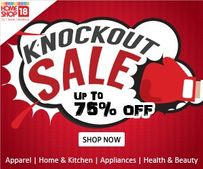 Knockout Sale: Upto 75% OFF | Apparels, Lifestyle & Home Related Products