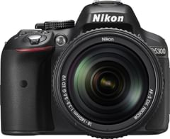 Nikon D5300 24.1MP DSLR Camera (AF-S 18-140mm )