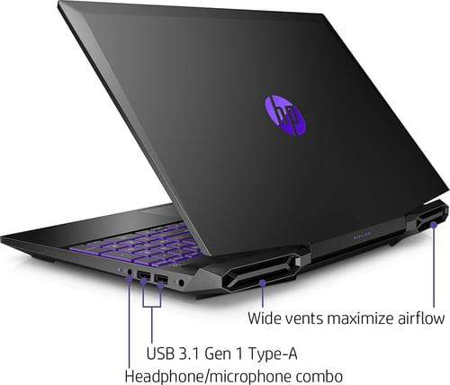 HP Pavilion 15-dk1148TX Gaming Laptop (10th Gen Core i5/ 8GB/ 512GB SSD/ Win10/ 4GB Graph)