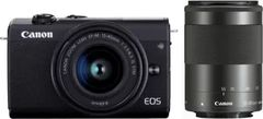 Canon EOS M200 Mirrorless Camera with 15-45 and 55-200 mm Lens