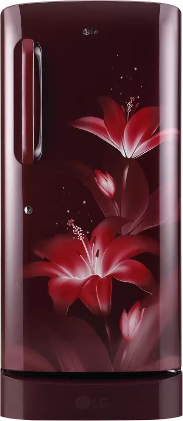 264bdca3296 LG GL-D221ARGY 215 L 5 Star Direct Cool Single Door Refrigerator Best Price  in India 2019