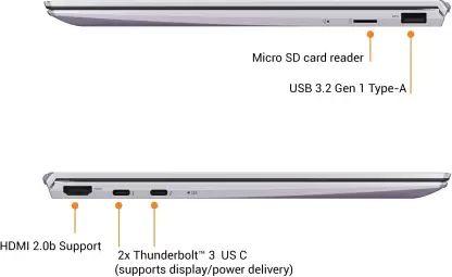 Asus ZenBook UX325JA-EG135TS Laptop (10th Gen Core i5/ 8GB/ 512GB SSD/ Win10 Home)