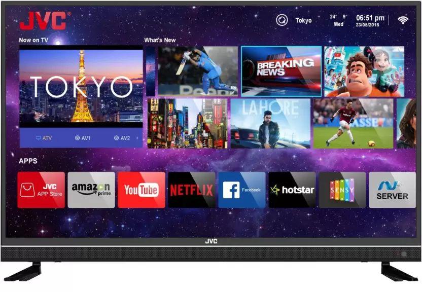 5b26b6345 JVC LT-43N7105C 43-inch Ultra HD 4K Smart LED TV Best Price in India 2019