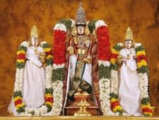 PRINTELLIGENT Lord Tirupathi Balaji Non-Tearable Poster for Home and Office Wall Decor (12 INCH X 18 INCH)