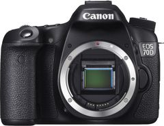 Canon EOS 70D 20.2 MP DSLR Camera (Body Only)