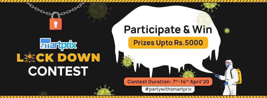 Smartprix Lockdown Contest: Participate & Win Upto Rs.5000