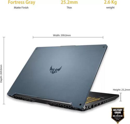 Asus TUF Gaming A17 FA706IH-H7015T Gaming Laptop (AMD Ryzen 5 4600H/ 16GB/ 512GB SSD/ Win10 Home/ 4GB Graph)