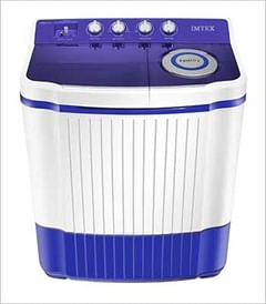 Imtex SA-8004 8.5 Kg Semi Automatic Washing Machine