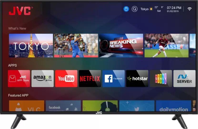 d4a53521dd3 JVC LT-43N5105C 43-inch Full HD Smart LED TV Best Price in India 2019