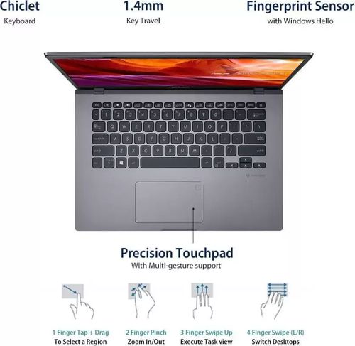 Asus VivoBook 14 X415JA-EK104T Laptop (10th Gen Core i3/ 4GB/ 1TB HDD/ Win10 Home)