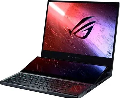 Asus ROG Zephyrus Duo 15 GX550LWS Laptop (10th Gen Core i7/ 16GB/ 1TB SSD/ Win10/ 8GB Graph)