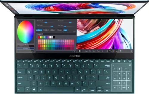 Asus ZenBook Pro Duo UX581GV-HM7201T Laptop (9th Gen Core i7/ 32GB/ 1TB SSD/ Win10 Home/ 6GB Graph)
