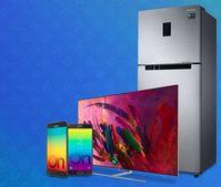 Samsung Diwali Sale on Mobiles, TVs, Appliances + Upto Rs. 1,000 Mobikwik Cashback
