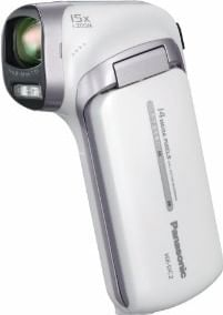 Panasonic HX-DC2GA-W 14.4MP Camcorder with 5x Optical Zoom