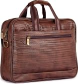 The Clownfish Mat Series 15.6 inch Laptop Briefcase (Walnut)