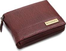WILDHORN Brown Men's Wallet (WH559 Bombay Brown Full Zip)