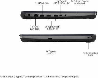 Asus TUF A15 FA566IH-HN150TS Gaming Laptop (Ryzen 5/ 8GB/1TB 256GB SSD/ Win10 Home/ 4GB Graph)